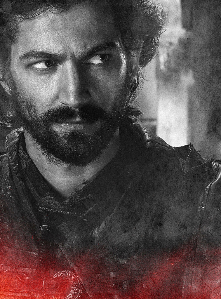 Game of Thrones Varón De cerca Daario Naharis Cara Barba Juego de tronos, barbudo, barbudos Película para móvil Teléfono