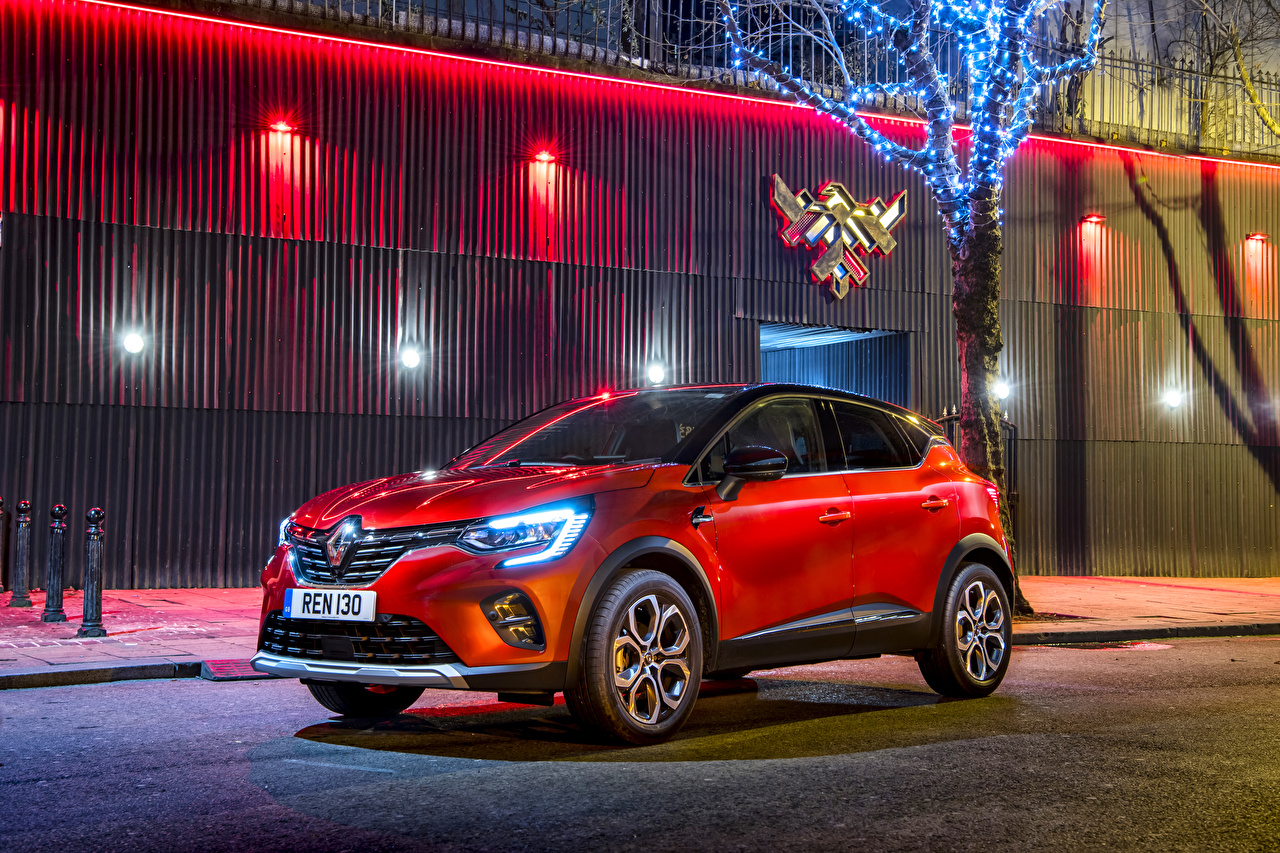 Picture Renault CUV 2019-20 Captur S-Edition Red Cars Crossover auto automobile