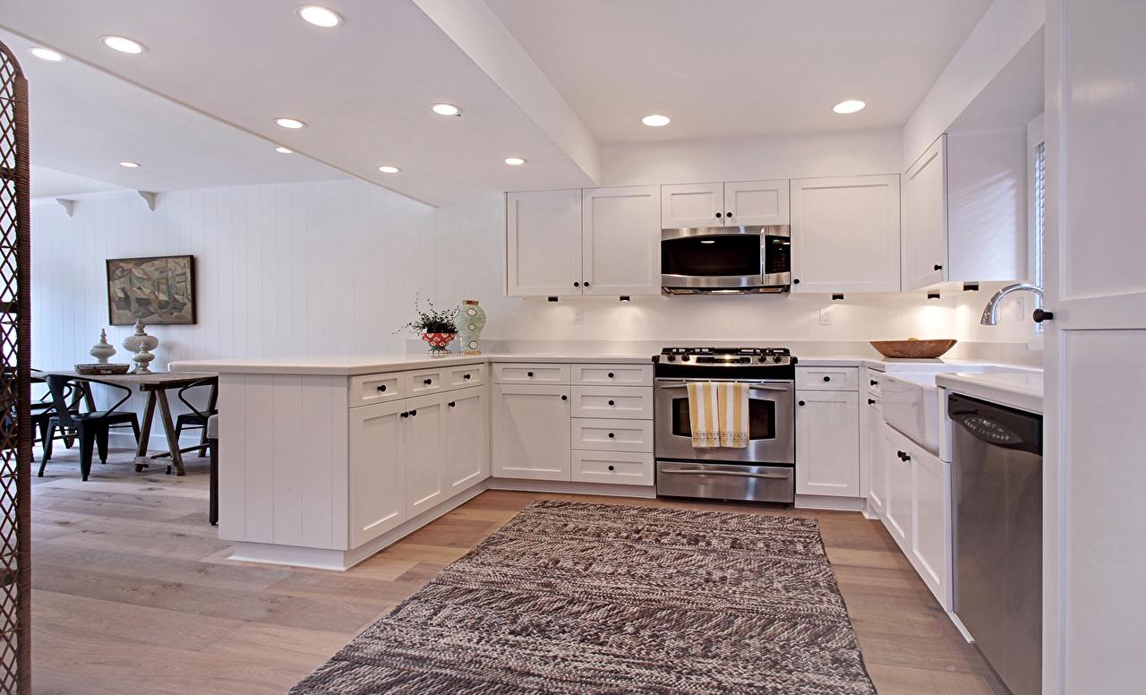 Fotos Küche Innenarchitektur Teppich Design