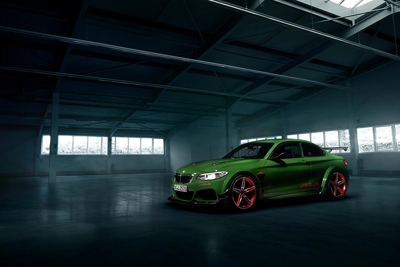 Pictures BMW Tuning 2016 AC Schnitzer ACL2 Green Cars auto automobile