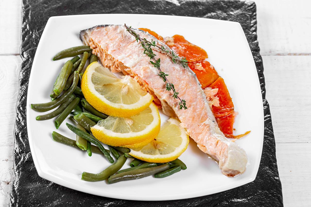 Picture Lemons Fish - Food Food Plate Vegetables