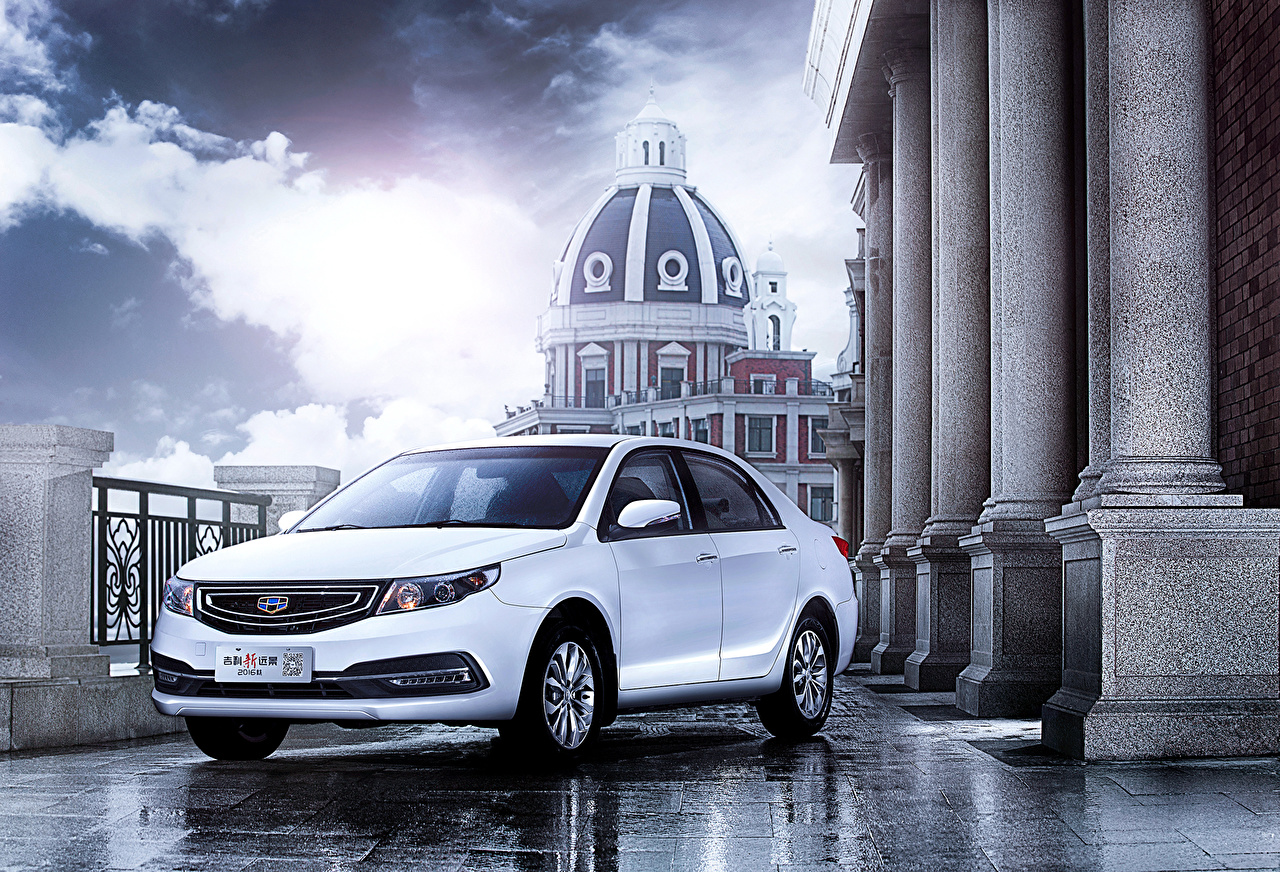 Geely 2015 GC7 Vision Blanc voiture, automobile Voitures