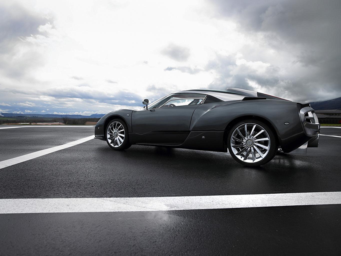 Photo Spyker 2008 C12 Zagato luxurious Side Cars Asphalt Luxury expensive auto automobile