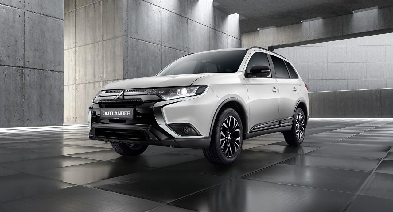 Pictures Mitsubishi CUV Outlander Black Edition, CIS-spec, 2020 White Metallic automobile Crossover Cars auto