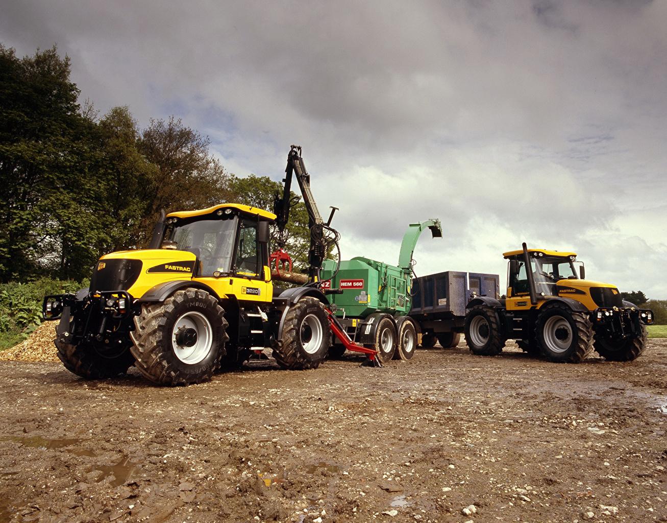 ,农机,2002-06 JCB Fastrac 3220,拖拉机,2 兩,农业机器,,