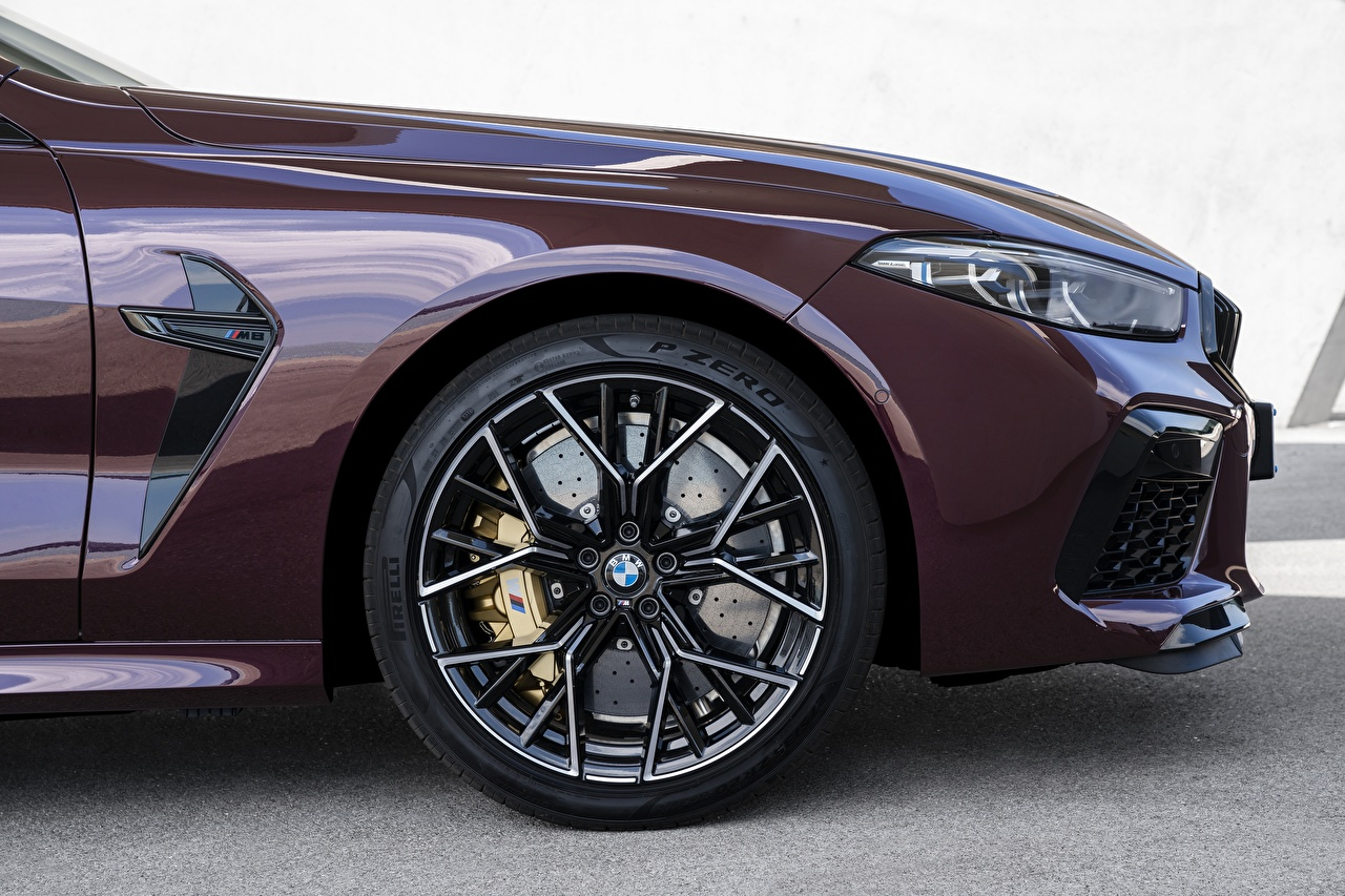 Picture BMW M8 Gran Coupe Competition F93 Wheel Side Cars Headlights wheels auto automobile