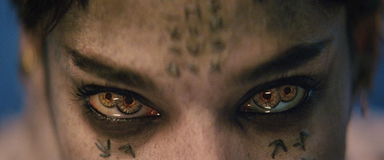 Desktop Wallpapers The Mummy 2017 Eyes Movies Supernatural beings Closeup Staring film Glance