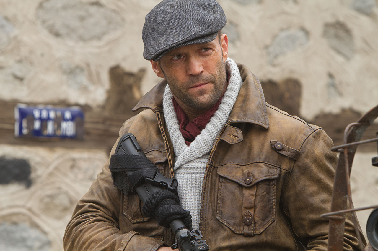 Picture The Expendables 2010 Jason Statham Lee Christmas Jacket film Celebrities Movies
