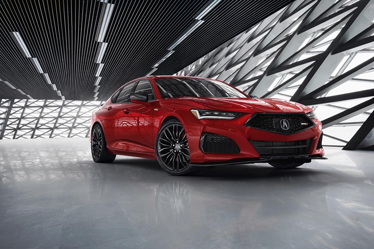Image Acura TLX, Type S Sedan Red Metallic automobile auto Cars