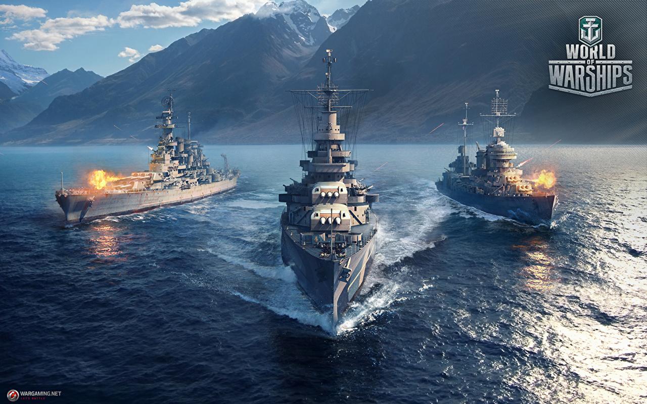 Hintergrundbilder World Of Warship Amerikanisch Cruiser USS Indianapolis (CA-35) Spiele Schiffe Heer US