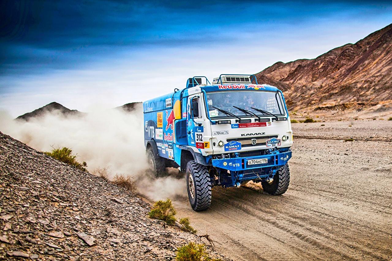 Image KAMAZ Trucks Rallying 312 SilkWay Cars lorry auto automobile