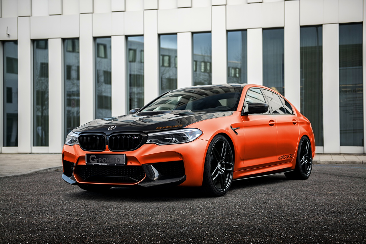 Wallpaper BMW Tuning M5, G-Power, F90, G5M Hurricane RS Cars Metallic auto automobile