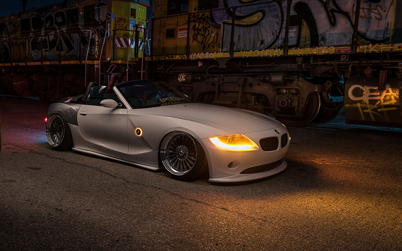 Pictures Bmw Tuning Z4 Stance White Cars