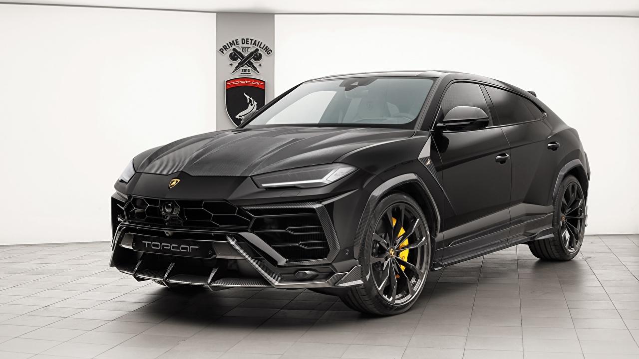 Picture Lamborghini 2018 TopCar Urus Black automobile auto Cars