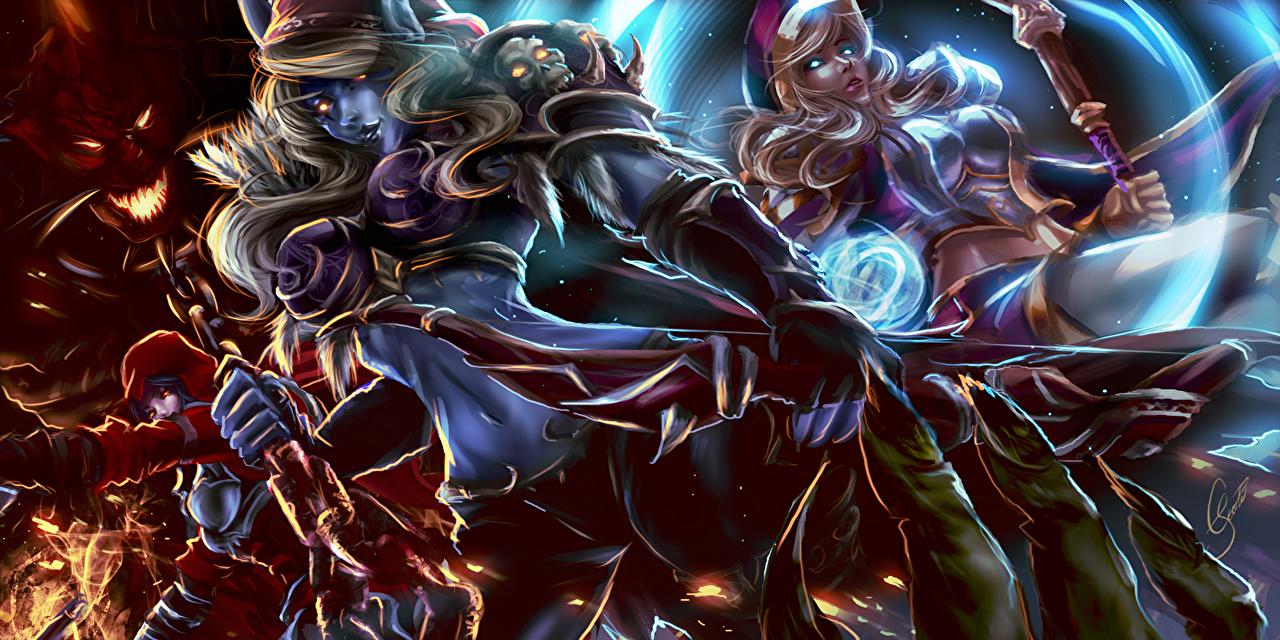 Desktop Wallpapers Wow Starcraft Diablo Iii Heroes Of The Storm