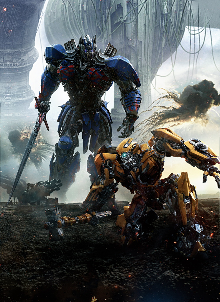 Images Transformers: The Last Knight Swords Robot Optimus Prime Two Movies  for Mobile phone robots 2 film