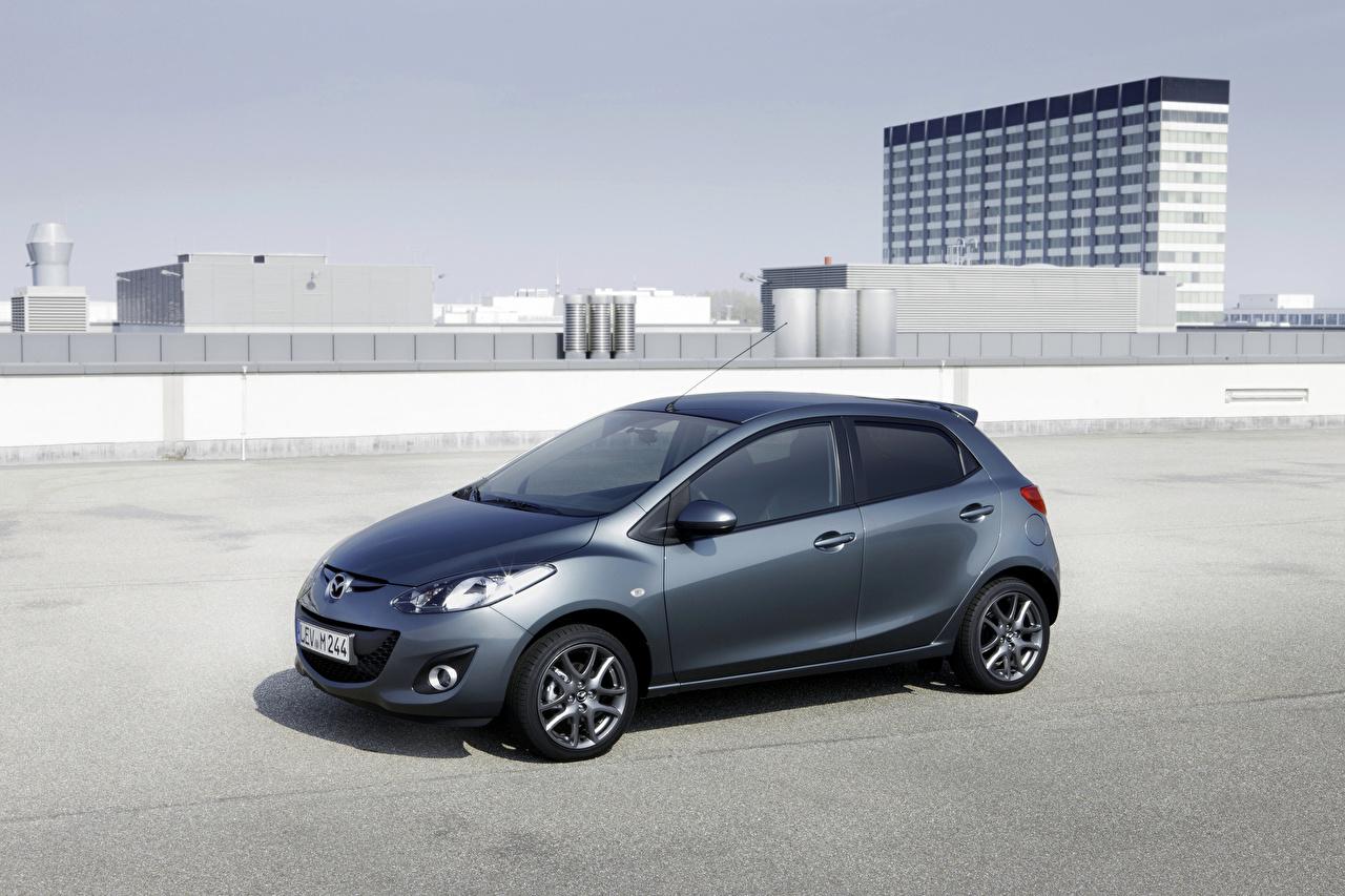Fotos von Mazda Mazda2 Edition 40 Jahre (DE2), 2012 Grau Autos Metallisch graue graues auto automobil