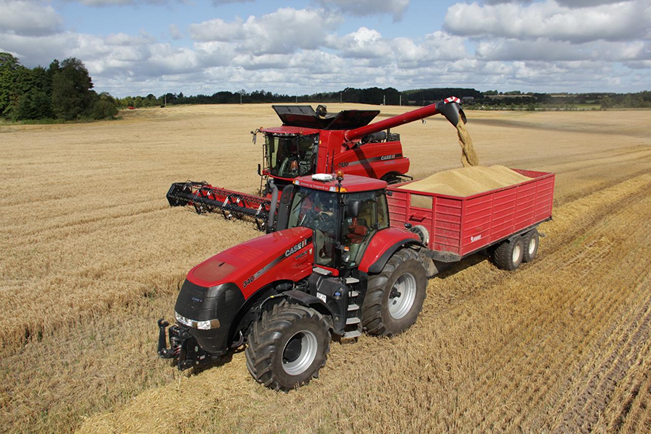 ,农机,田地,联合收割机,Case IH Axial-Flow 7130,拖拉机,农业机器,,