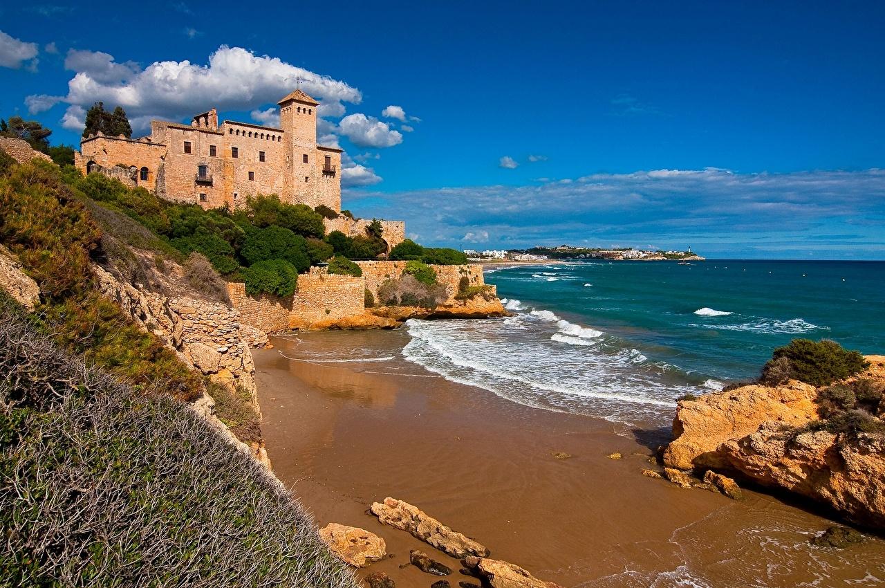 España Castillo Tamarit Tarragona Costa Dorada Catalonia Playa playas Naturaleza