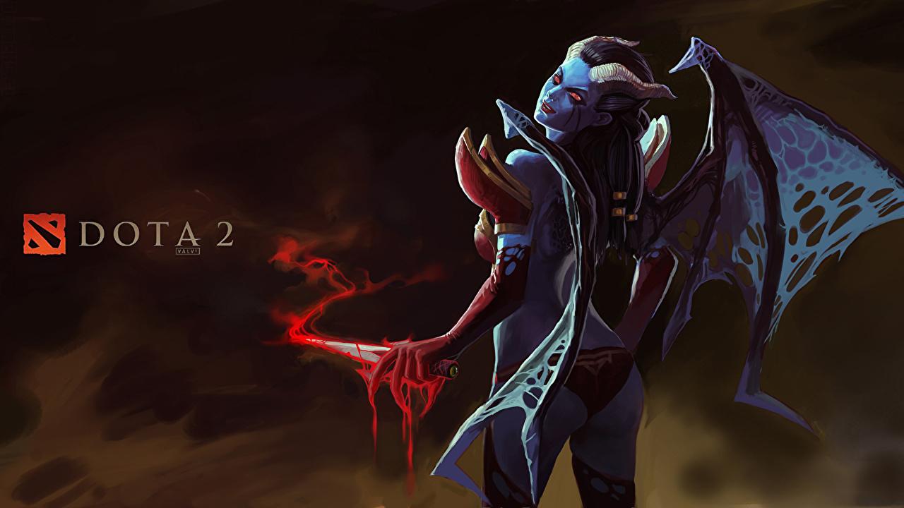 Fondos De Pantalla Dota 2 Queen Of Pain Demonios Juegos