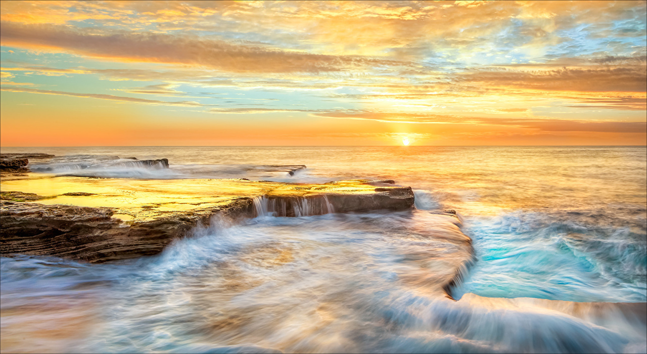 Wallpaper Australia Maroubra New South Wales Sea Nature Coast