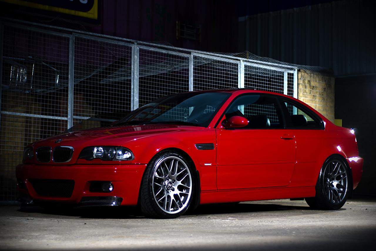 Wallpaper Bmw M3 Red Cars Metallic
