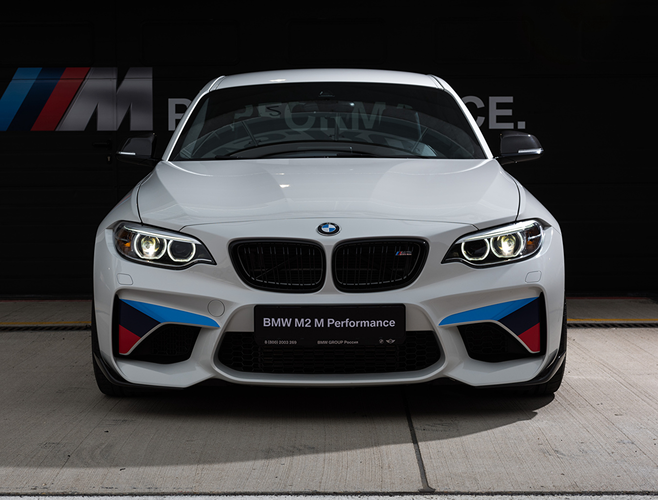 Images BMW M2 F87 Coupe White Cars Front