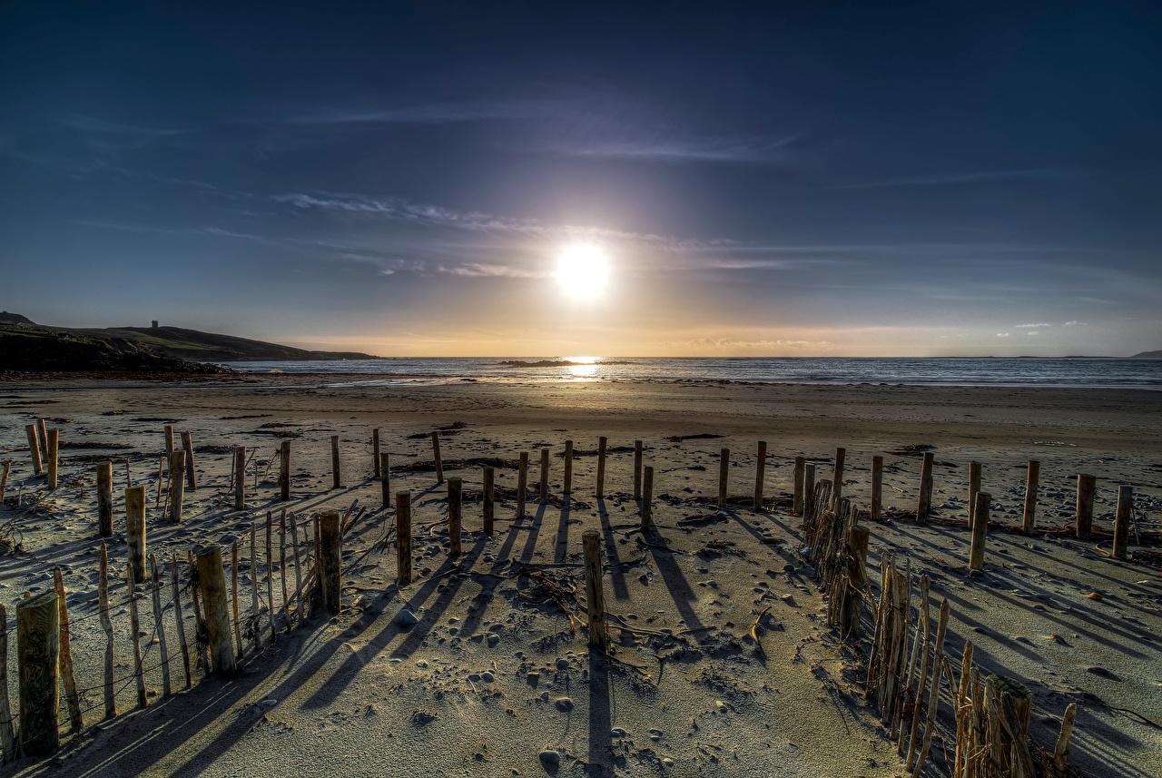 Fotos Irland Donegal, Maghery Beach Strände Sonne Natur Küste Strand