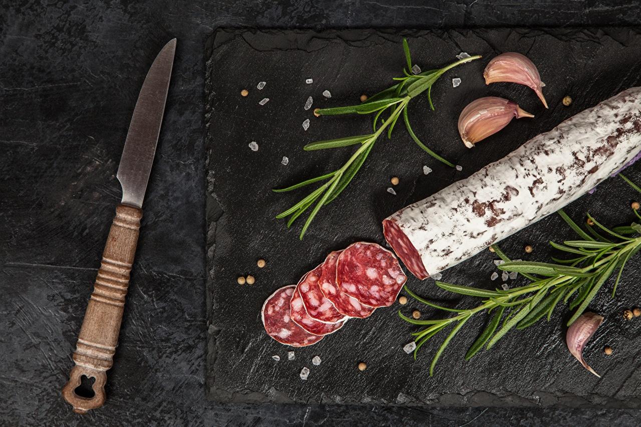 Images Knife Sausage Food Sliced food