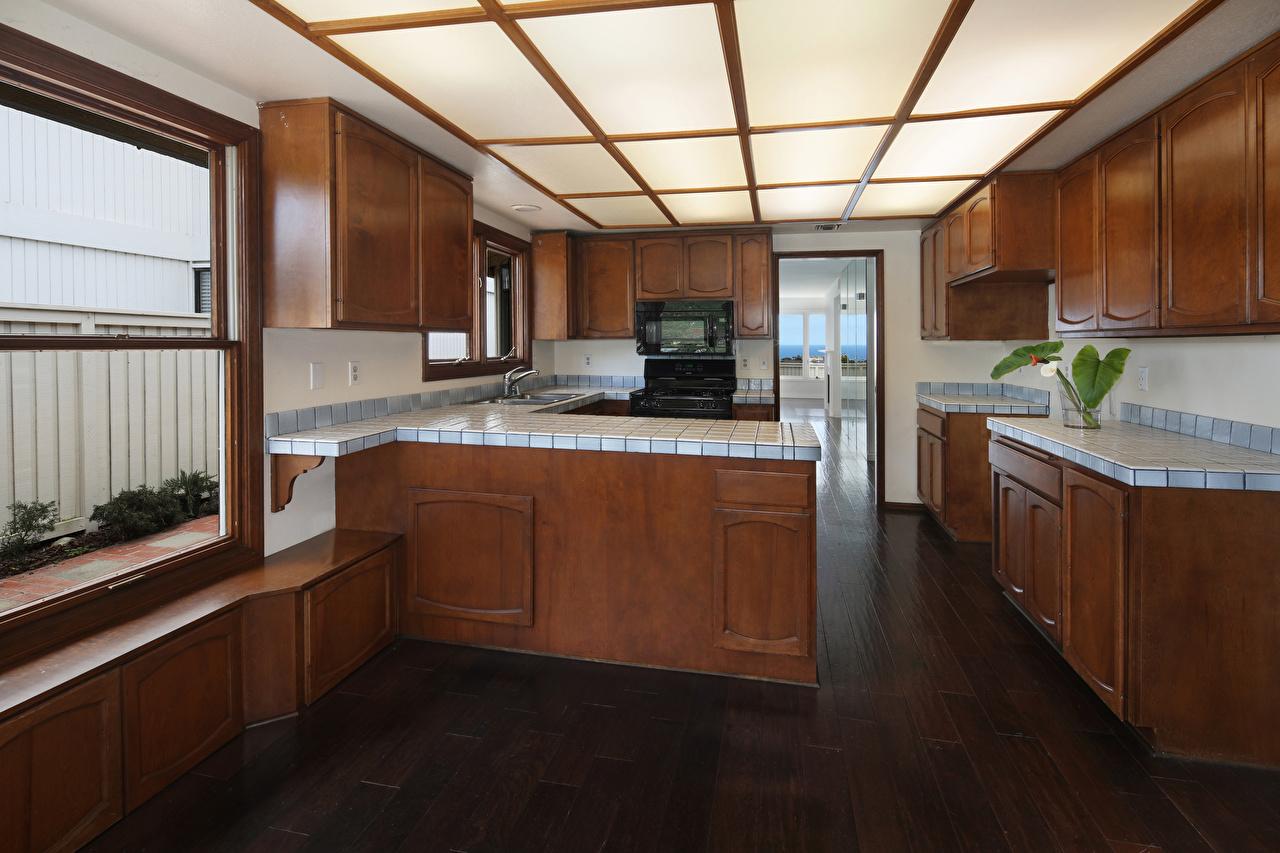 Fotos Küche Innenarchitektur Tisch Design