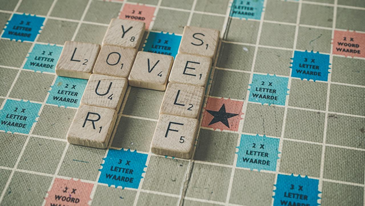 Bakgrundsbilder engelska Crossword Puzzle Skrivet ord Engelsk text textning