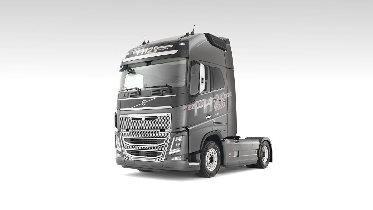 Volvo Camion FH16, 750 Gris autos, automóvil, automóviles, el carro Coches