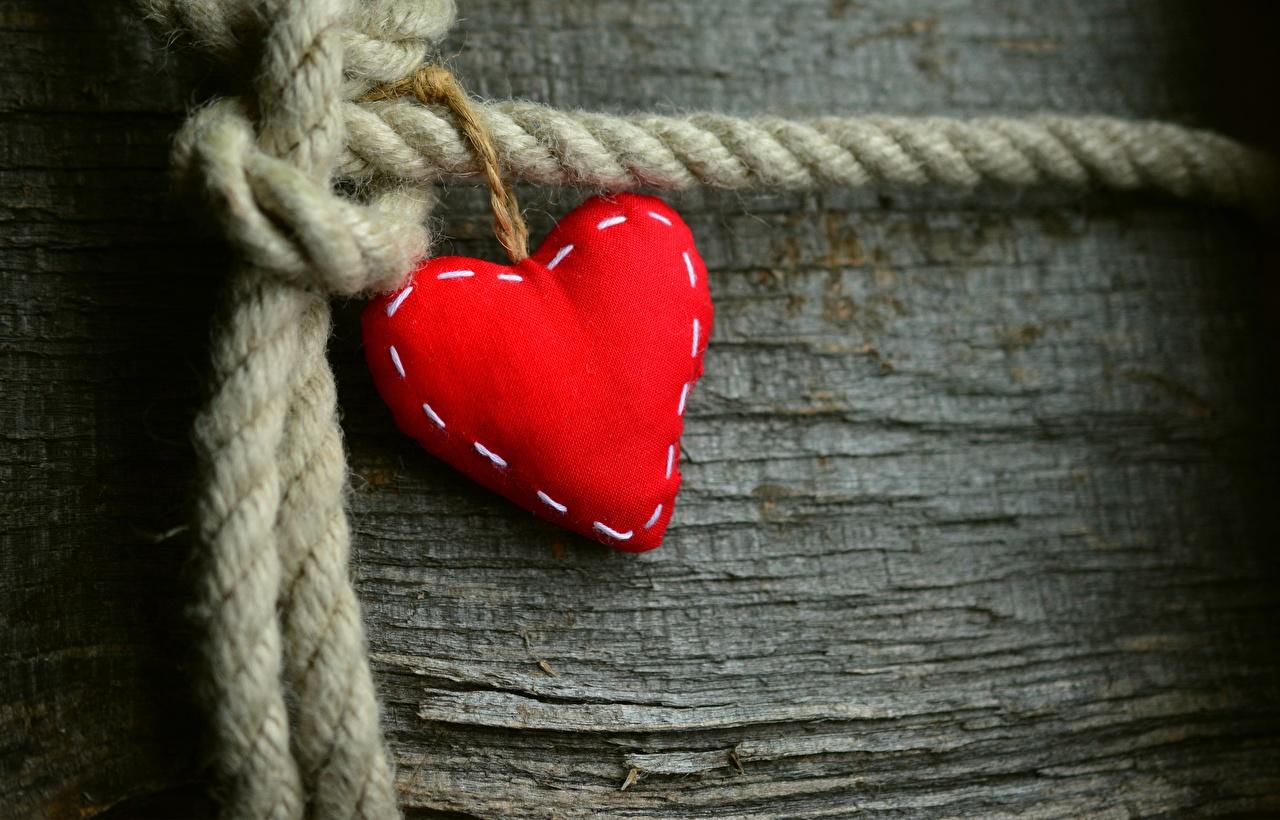 Coração Vermelho Cartão do molde