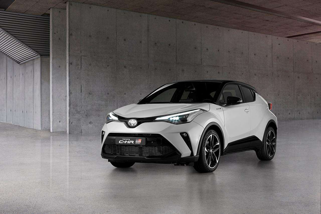Pictures Toyota CUV C-HR Hybrid GR Sport, EU-spec, 2020 White Metallic automobile Crossover Cars auto