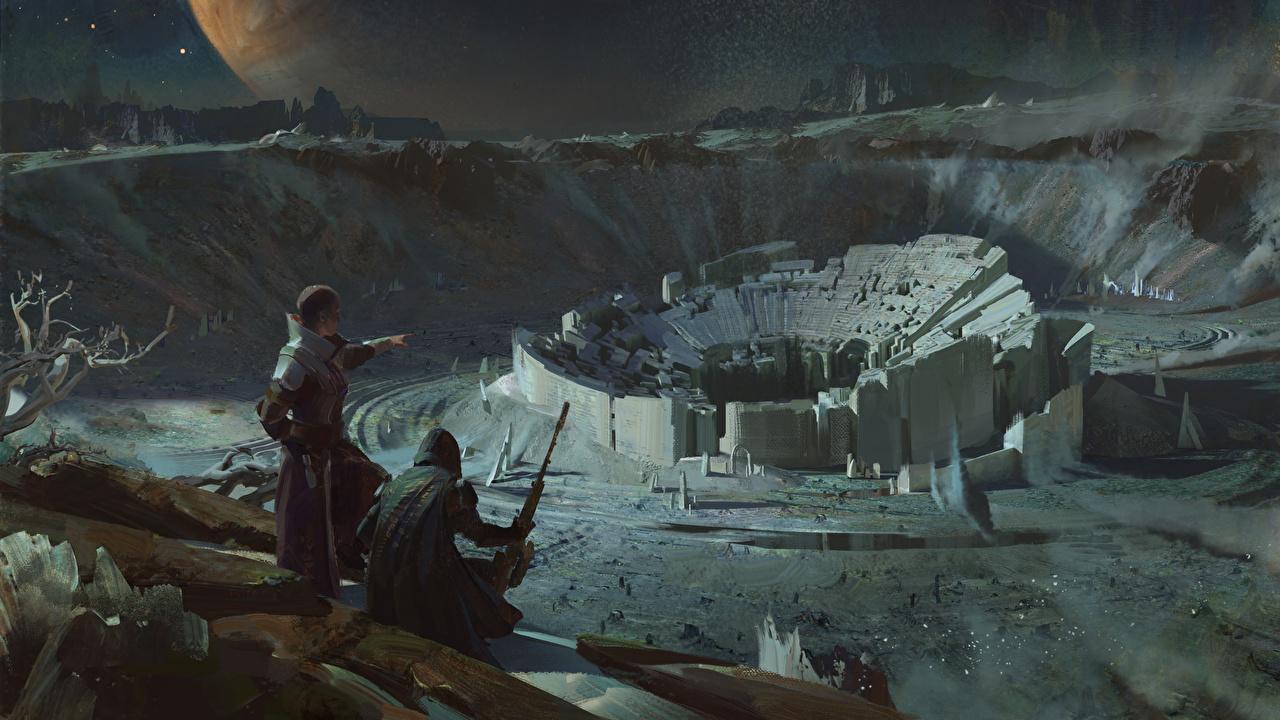 壁紙 ウォリアーズ 幻想的な世界 Destiny 2 ゲーム ファンタジー ダウンロード 写真