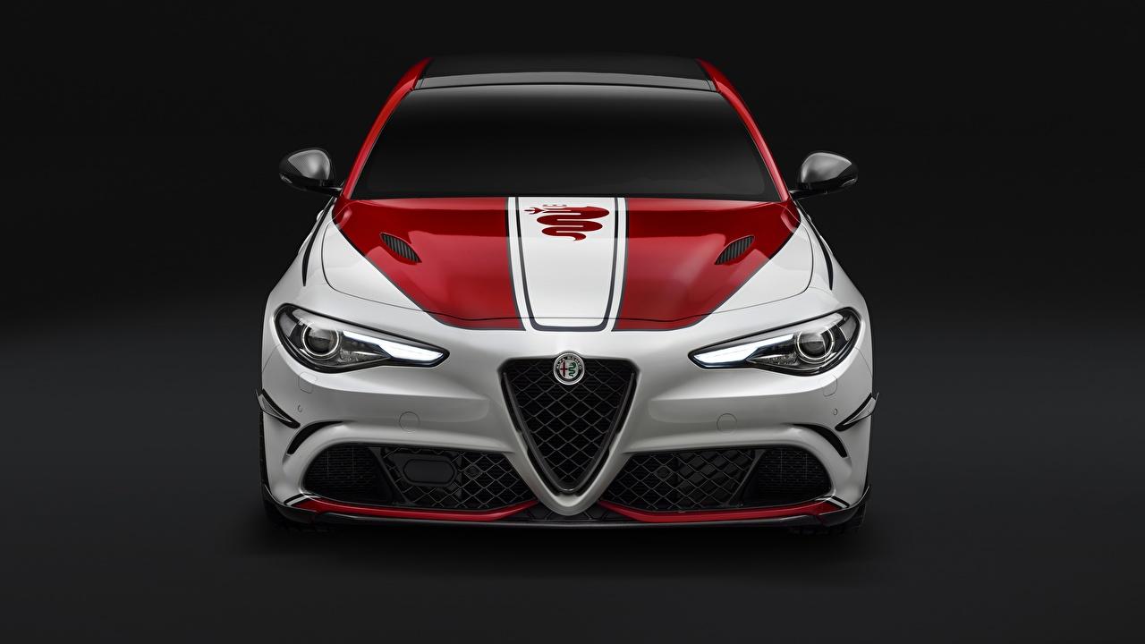 Image Alfa Romeo Quadrifoglio Giulia 2019 auto Front Cars automobile