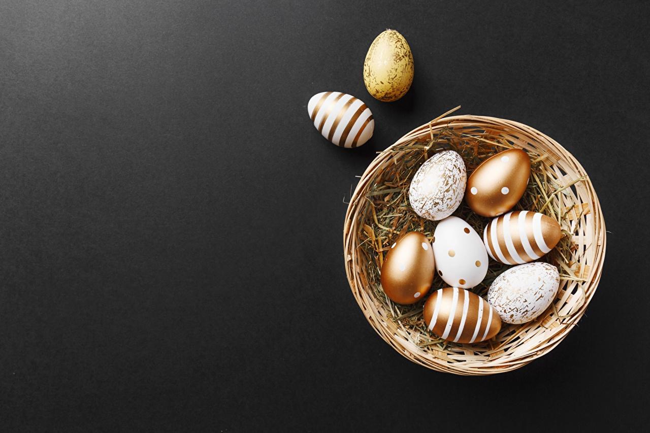,復活節,籃,卵,,