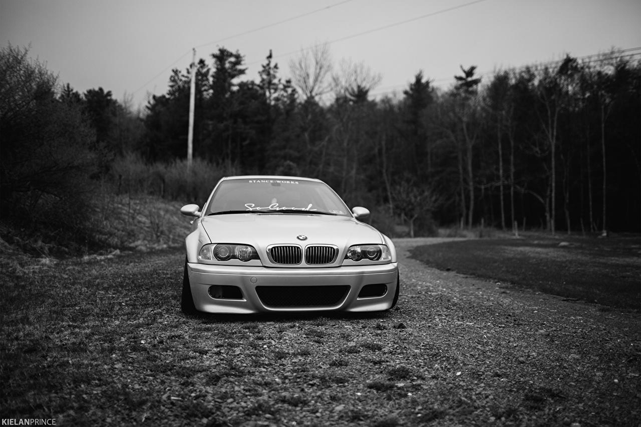 Wallpaper BMW M3 E46 Front automobile Cars auto