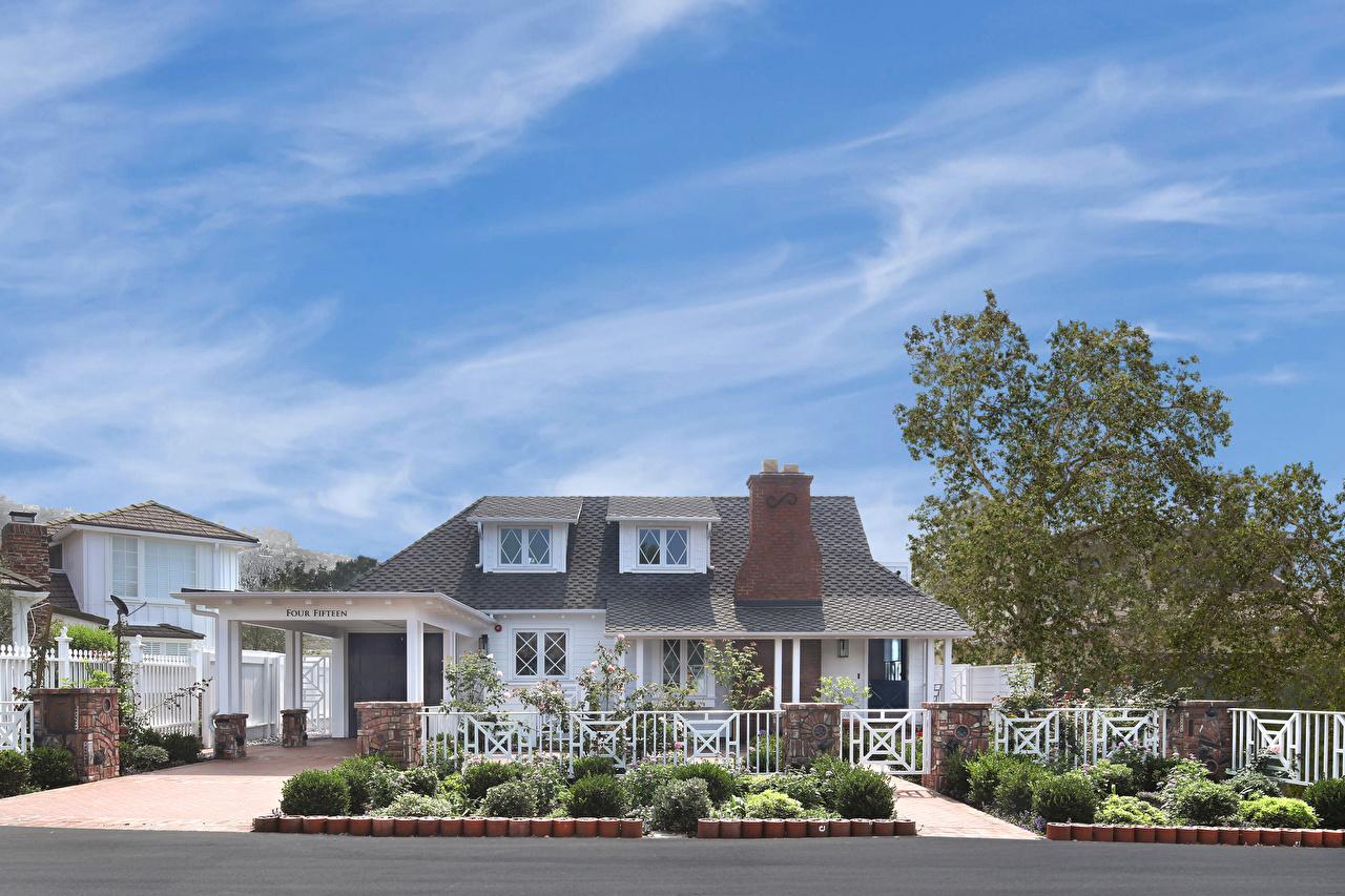 Photos California USA Laguna Beach Mansion Cities Building Design Houses