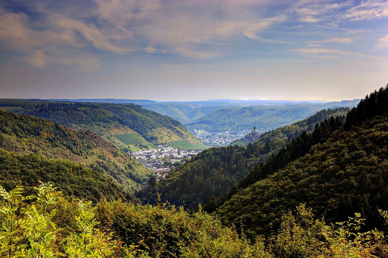 、風景写真、ドイツ、コッヘム、地平線、自然、