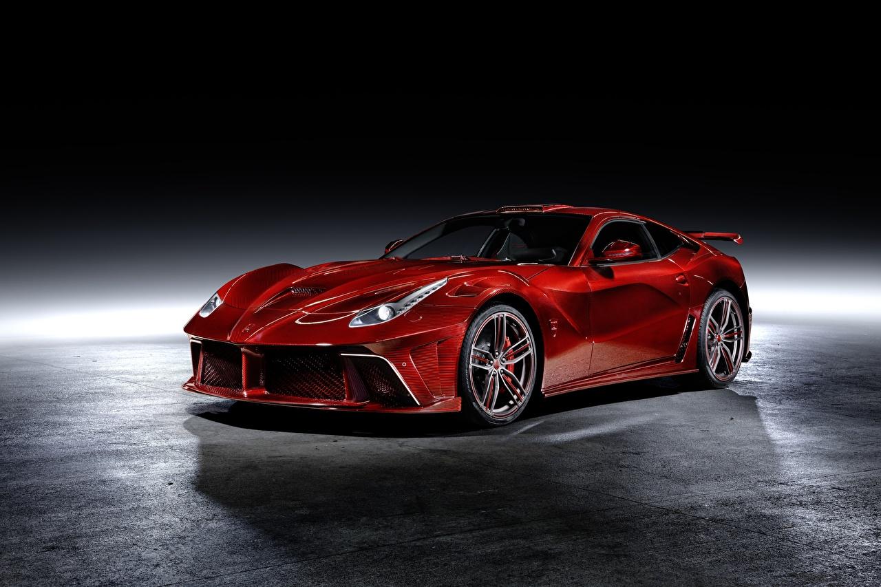 Foto Tuning Ferrari Mansory, Berlinetta, F12, 2013, La Revoluzione Coupe Rot Autos Metallisch Fahrzeugtuning auto automobil