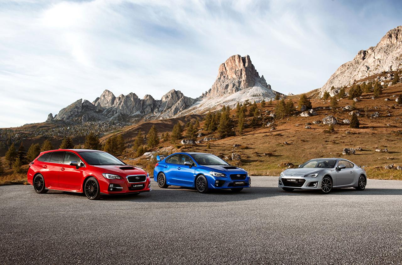 Bilder von Subaru Drei 3 automobil auto Autos