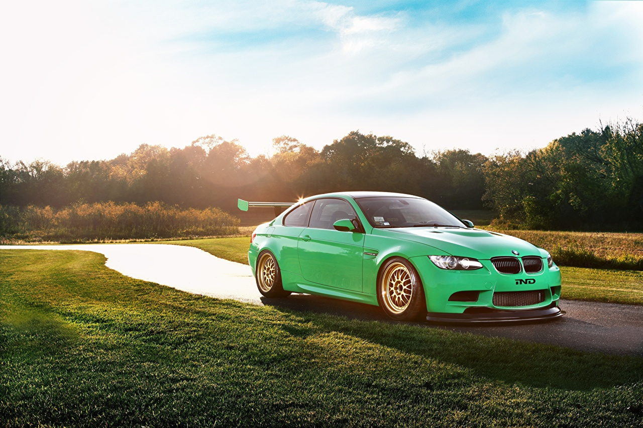 Pictures BMW M3 Green Cars auto automobile