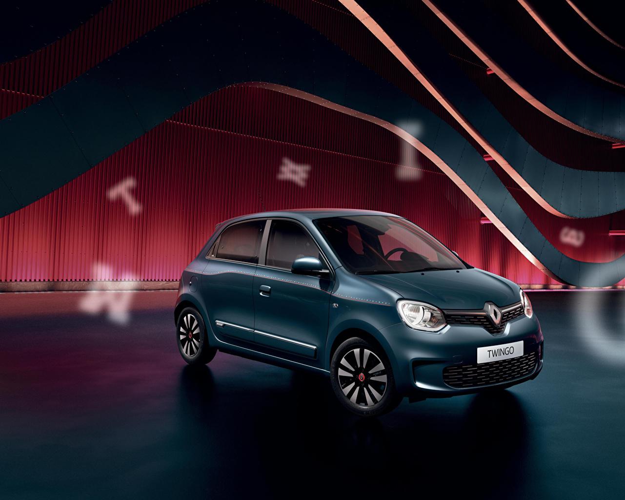 Image Renault 2020 Twingo Signature Green automobile Cars auto