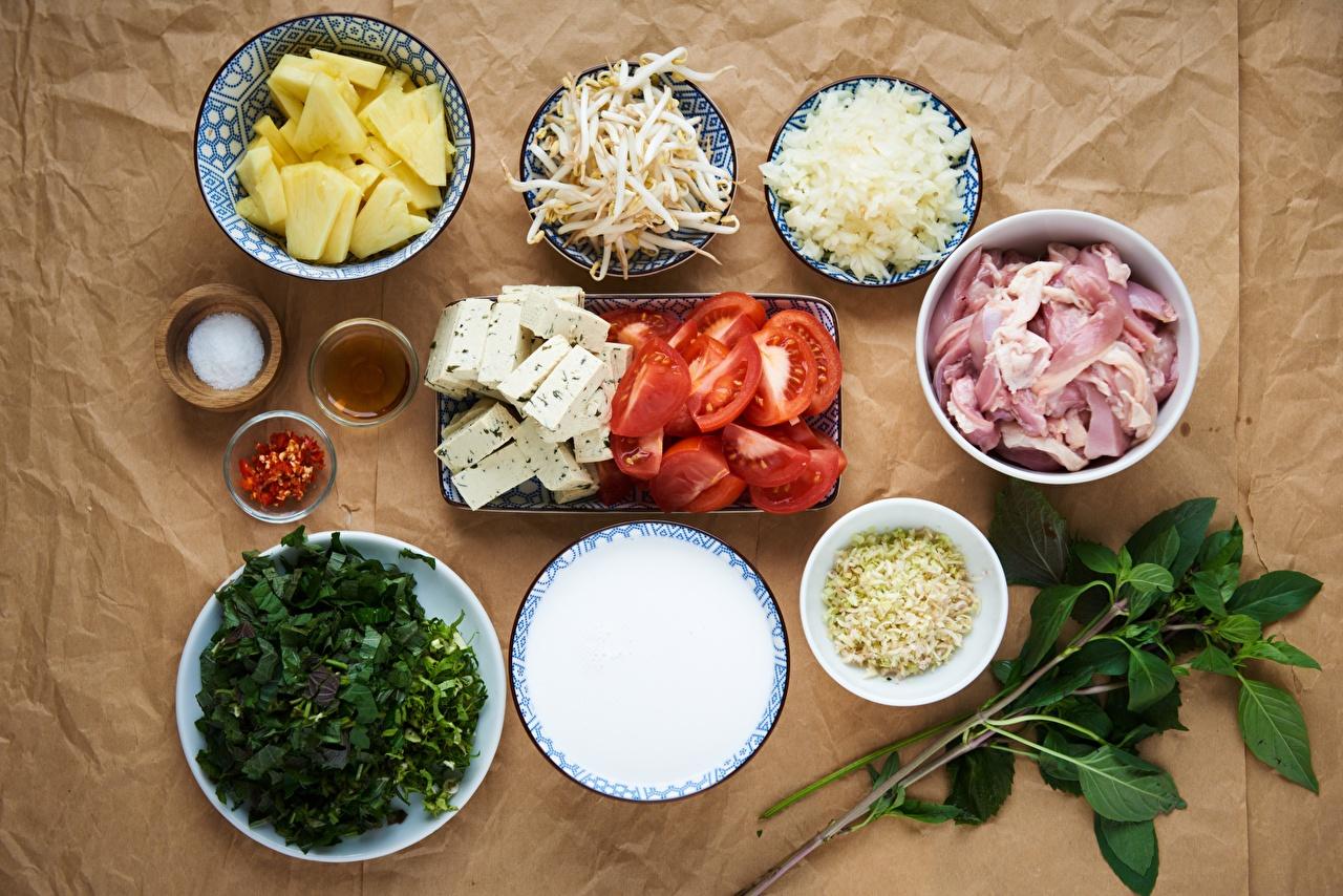 Bilder von Tomate Käse Teller Gewürze das Essen geschnittenes Fleischwaren Tomaten Geschnitten geschnittene Lebensmittel