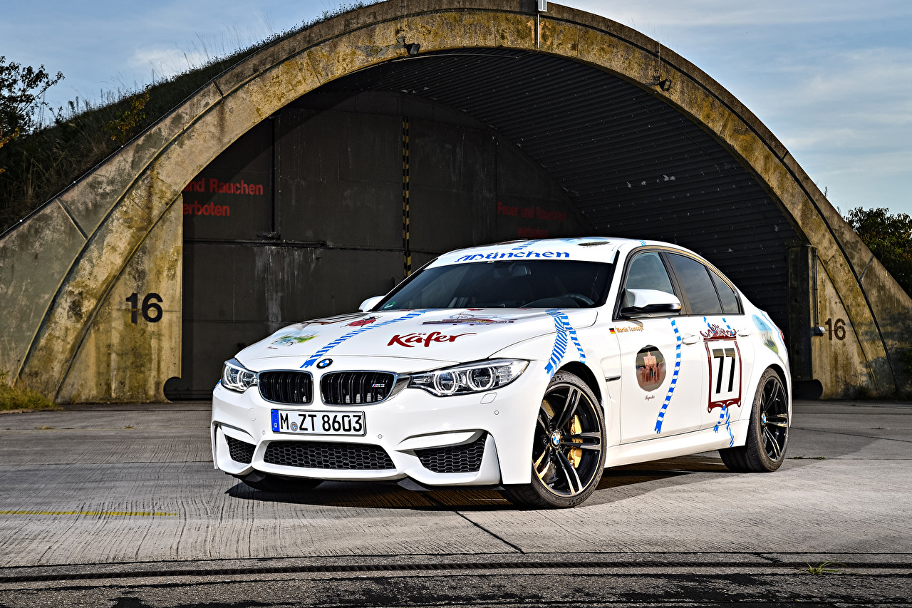 Image BMW Tuning White Cars auto automobile