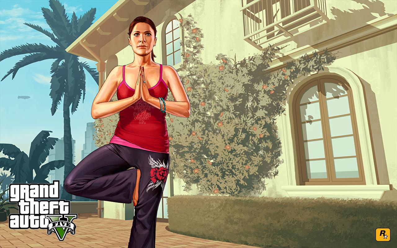 Fotos GTA GTA 5 Mädchens Spiele Unterhemd Vektorgrafik Grand Theft Auto