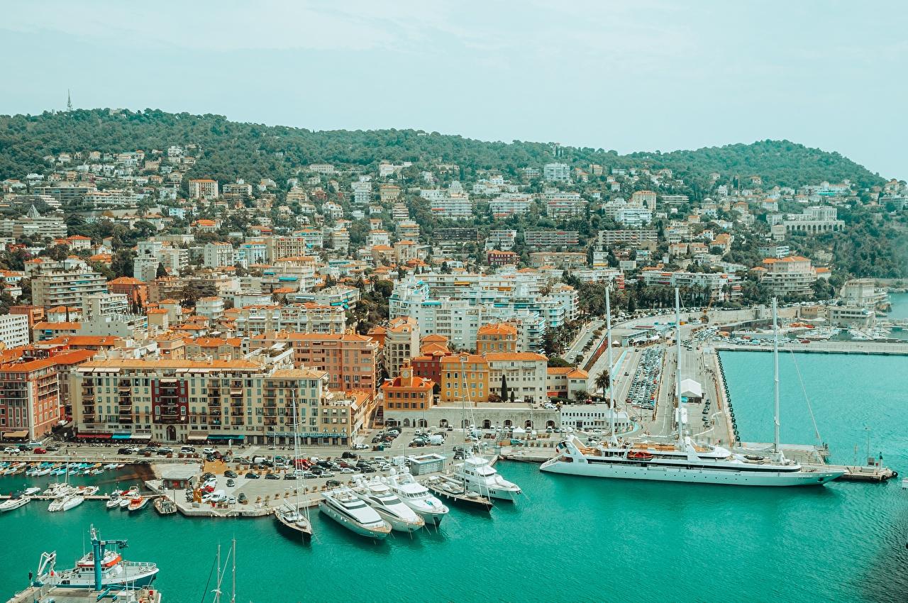 France Quai Navire Yacht Nice, Alpes-Maritimes navires, Estacade Villes