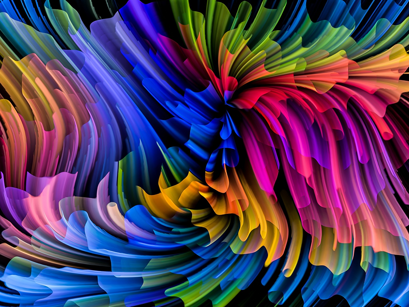 Picture Texture Multicolor Abstraction Abstract art