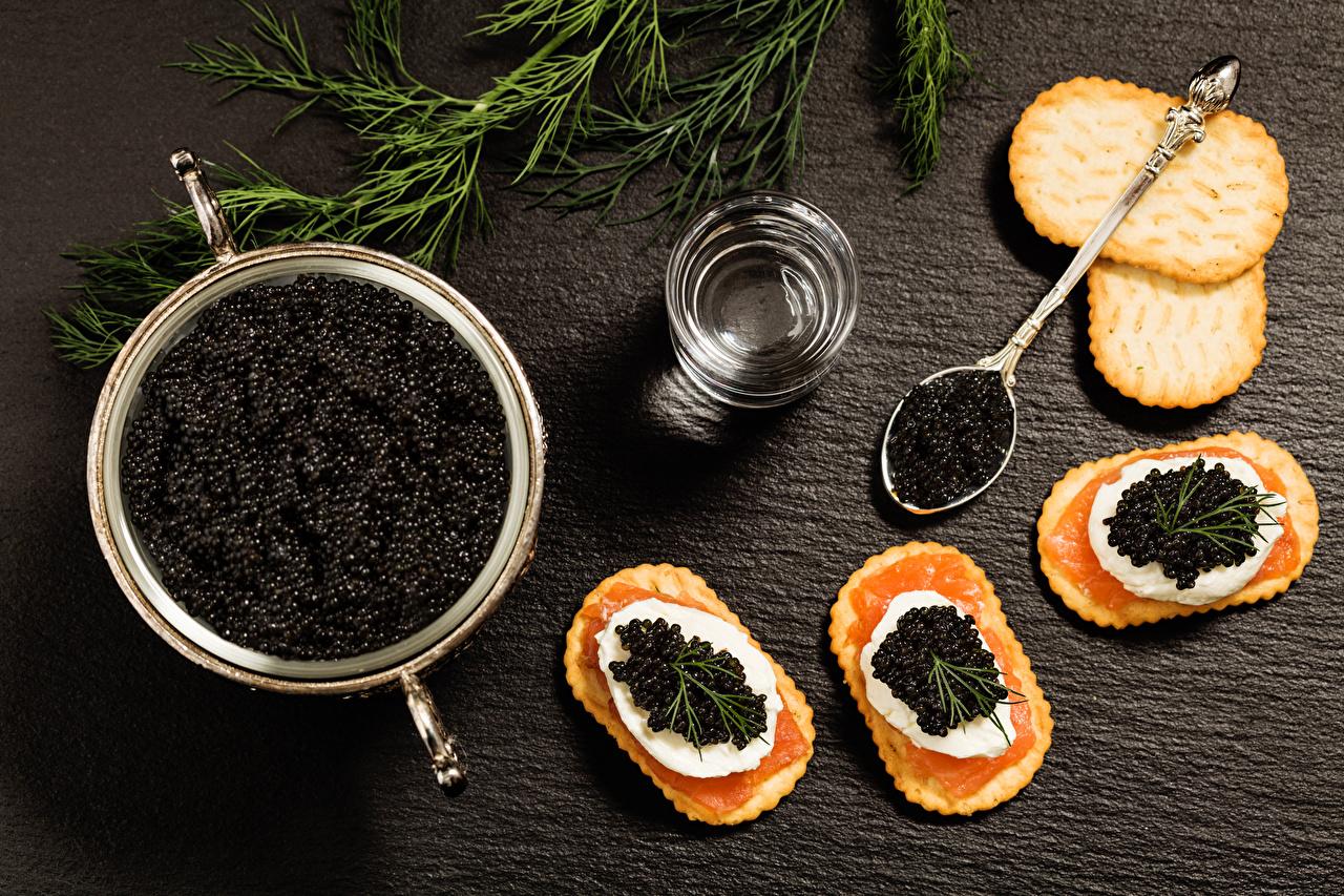 Bilder Rogen Kekse das Essen Meeresfrüchte Kaviar Caviar Lebensmittel